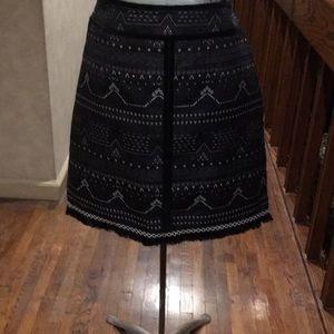 Esqualo amazing design skirt metallic accents 12